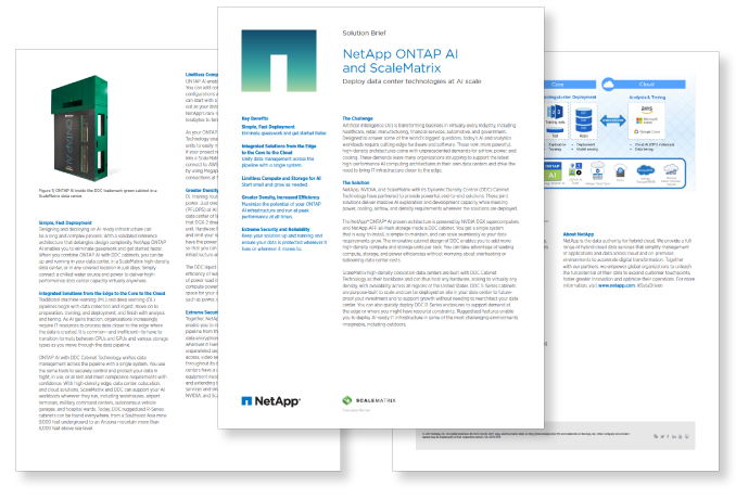 NetApp Solution Brief